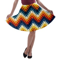 The Amazing Pattern Library A-line Skater Skirt
