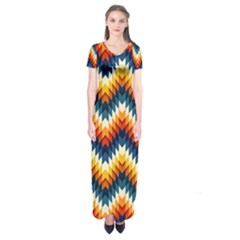 The Amazing Pattern Library Short Sleeve Maxi Dress