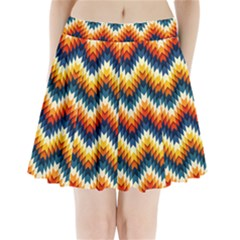The Amazing Pattern Library Pleated Mini Skirt