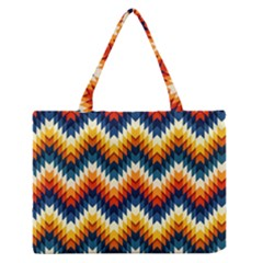 The Amazing Pattern Library Medium Zipper Tote Bag