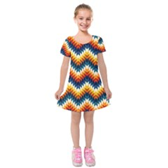 The Amazing Pattern Library Kids  Short Sleeve Velvet Dress