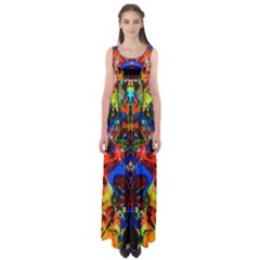 Breath of Life Empire Waist Maxi Dress