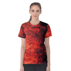 Reflections at Night Women s Cotton Tee
