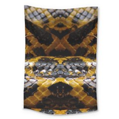 Textures Snake Skin Patterns Large Tapestry