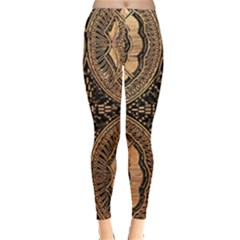 The Art Of Batik Printing Leggings
