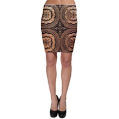 The Art Of Batik Printing Bodycon Skirt