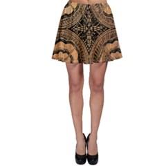 The Art Of Batik Printing Skater Skirt