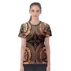 The Art Of Batik Printing Women s Sport Mesh Tee