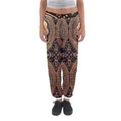 The Art Of Batik Printing Women s Jogger Sweatpants