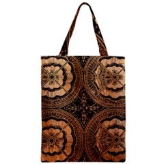 The Art Of Batik Printing Zipper Classic Tote Bag