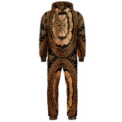 The Art Of Batik Printing Hooded Jumpsuit (Men)