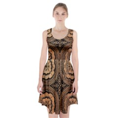 The Art Of Batik Printing Racerback Midi Dress