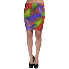 Texture Pattern Programming Processing Bodycon Skirt