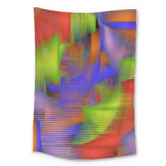 Texture Pattern Programming Processing Large Tapestry
