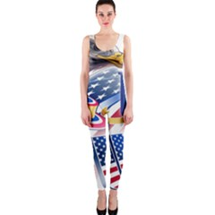 United States Of America Usa  Images Independence Day Onepiece Catsuit
