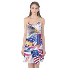 United States Of America Usa  Images Independence Day Camis Nightgown