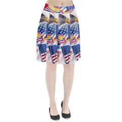 United States Of America Usa  Images Independence Day Pleated Skirt
