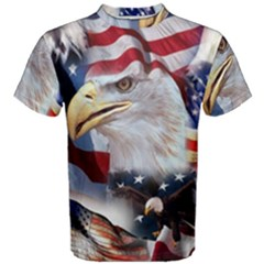 United States Of America Images Independence Day Men s Cotton Tee
