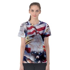 United States Of America Images Independence Day Women s Sport Mesh Tee