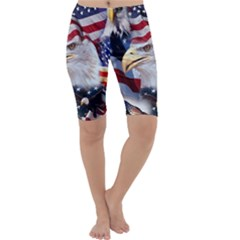 United States Of America Images Independence Day Cropped Leggings