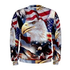 United States Of America Images Independence Day Men s Sweatshirt