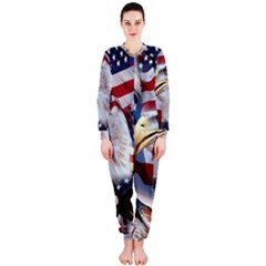 United States Of America Images Independence Day OnePiece Jumpsuit (Ladies)