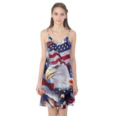 United States Of America Images Independence Day Camis Nightgown