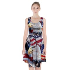 United States Of America Images Independence Day Racerback Midi Dress