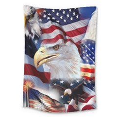 United States Of America Images Independence Day Large Tapestry
