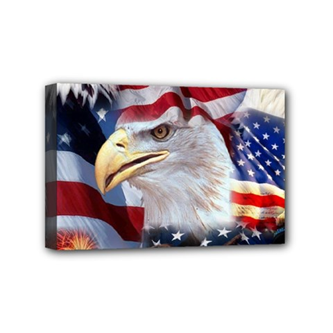 United States Of America Images Independence Day Mini Canvas 6  x 4