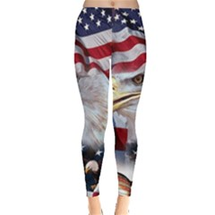 United States Of America Images Independence Day Leggings