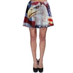 United States Of America Images Independence Day Skater Skirt