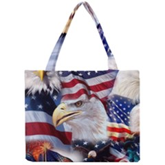 United States Of America Images Independence Day Mini Tote Bag