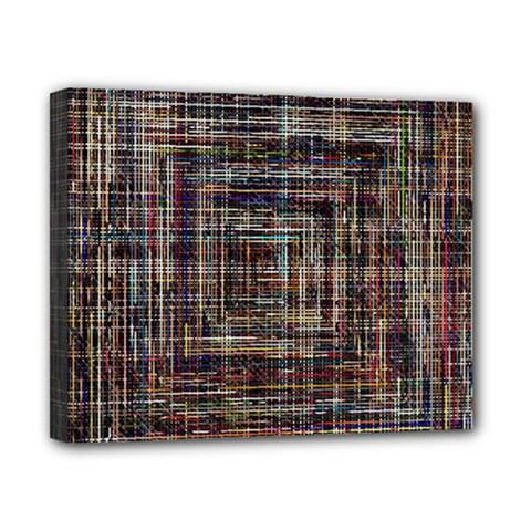 Unique Pattern Canvas 10  x 8