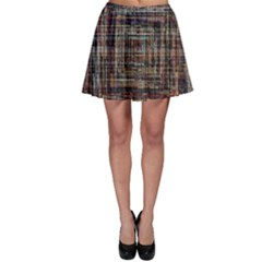 Unique Pattern Skater Skirt