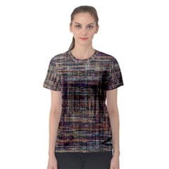 Unique Pattern Women s Sport Mesh Tee