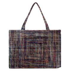 Unique Pattern Medium Zipper Tote Bag