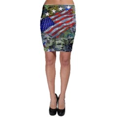Usa United States Of America Images Independence Day Bodycon Skirt