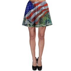 Usa United States Of America Images Independence Day Skater Skirt