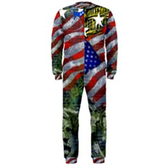 Usa United States Of America Images Independence Day OnePiece Jumpsuit (Men)