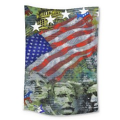Usa United States Of America Images Independence Day Large Tapestry