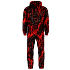Volcanic Textures Hooded Jumpsuit (Men)