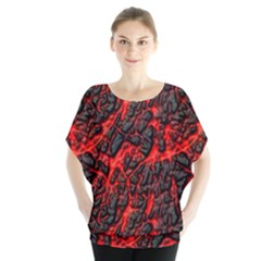Volcanic Textures Blouse