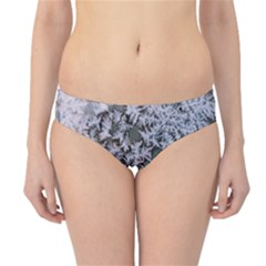 Frosted Winter Texture Hipster Bikini Bottoms