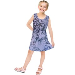 Frosted Winter Texture Kids  Tunic Dress