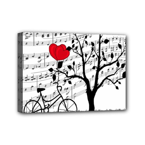 Love song Mini Canvas 7  x 5