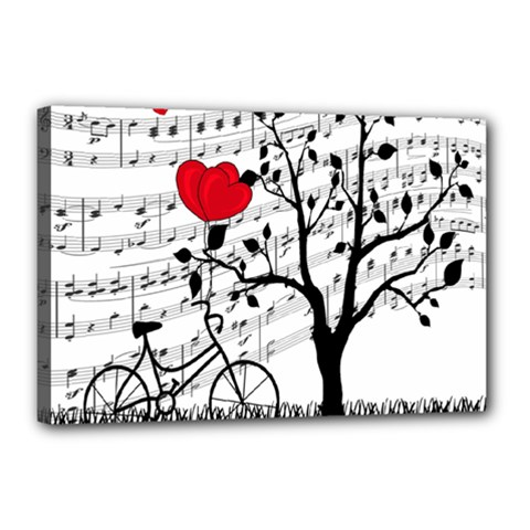 Love song Canvas 18  x 12