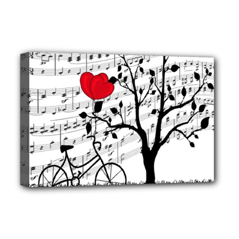 Love song Deluxe Canvas 18  x 12