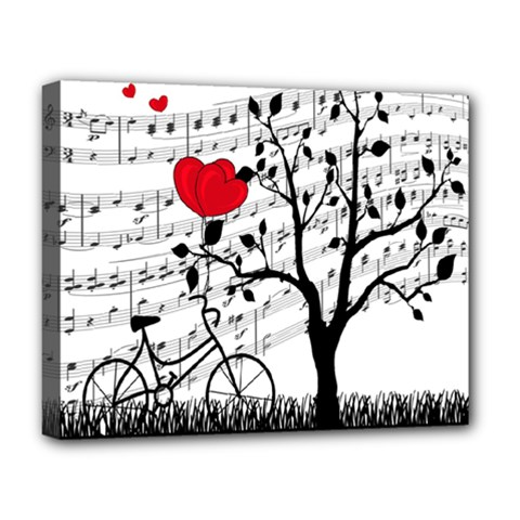 Love song Deluxe Canvas 20  x 16