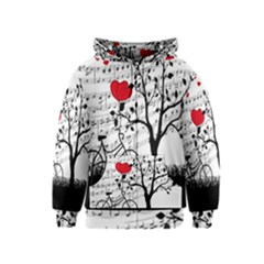 Love song Kids  Zipper Hoodie